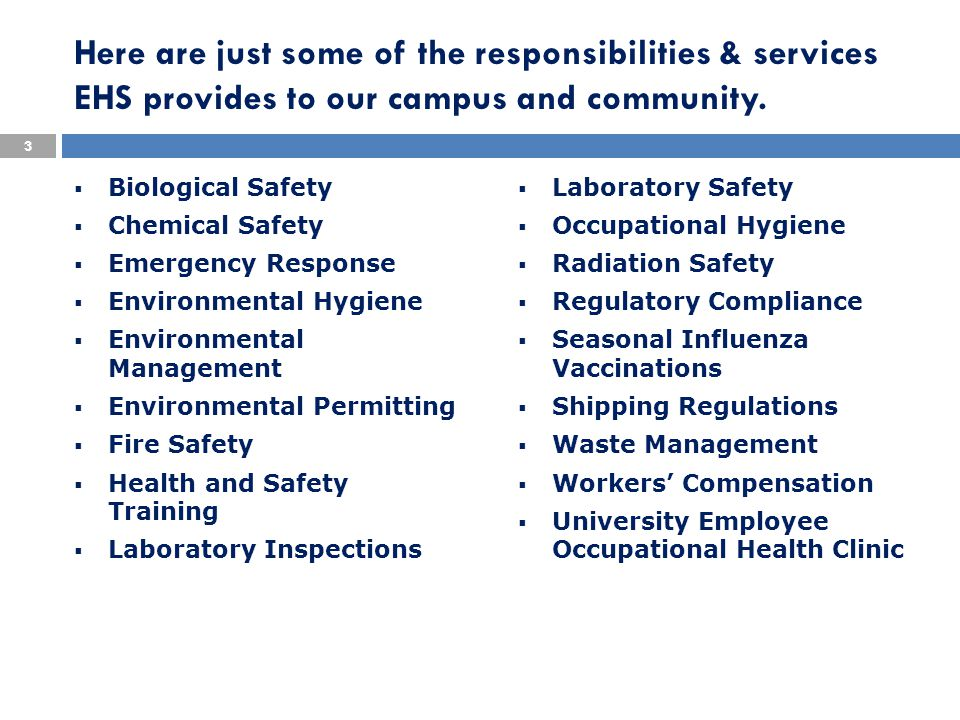 UNC-CH Safety & Health Program In accordance with University policy and North Carolina General Statute Article 63, each state agency must have a written health and safety program (UNC Workplace Requirement).