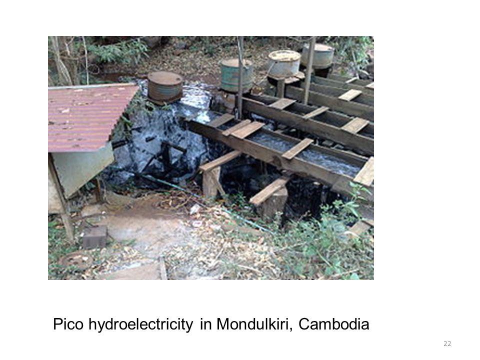 22 Pico hydroelectricity in Mondulkiri, Cambodia