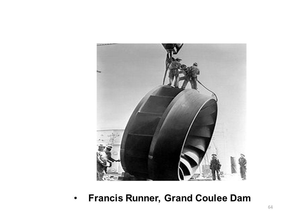 64 Francis Runner, Grand Coulee Dam