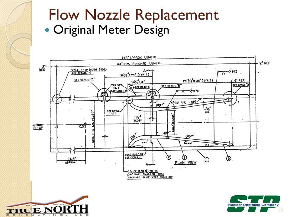 Flow Nozzle Replacement Original Meter Design 18