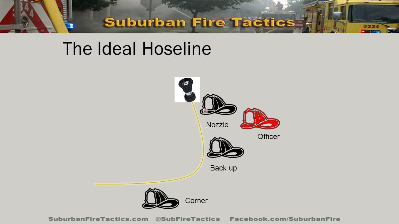 The Ideal Hoseline Nozzle Back up Officer Corner