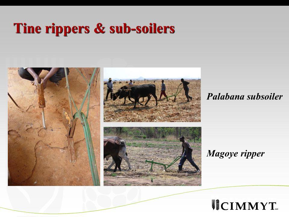 Tine rippers & sub-soilers Palabana subsoiler Magoye ripper