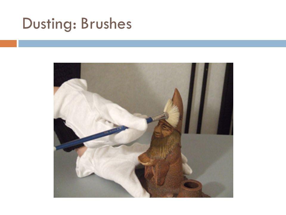 Dusting: Brushes