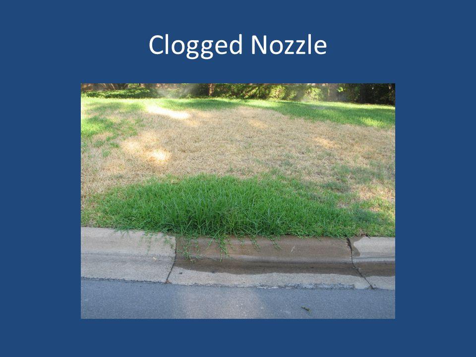 Clogged Nozzle