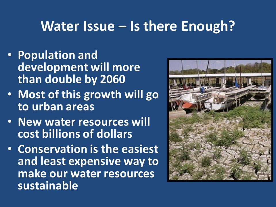Water Issue – Is there Enough.