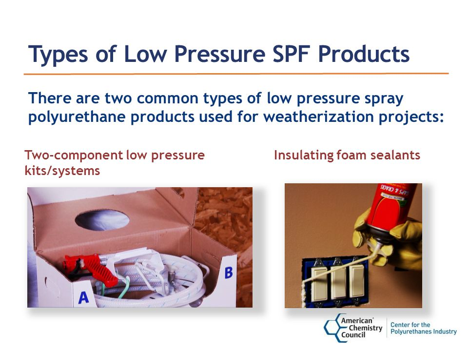 Unit 1: Q1 Debrief When describing differences between two-component low pressure (LP) SPF and high pressure (HP) SPF, which of the following is not true.