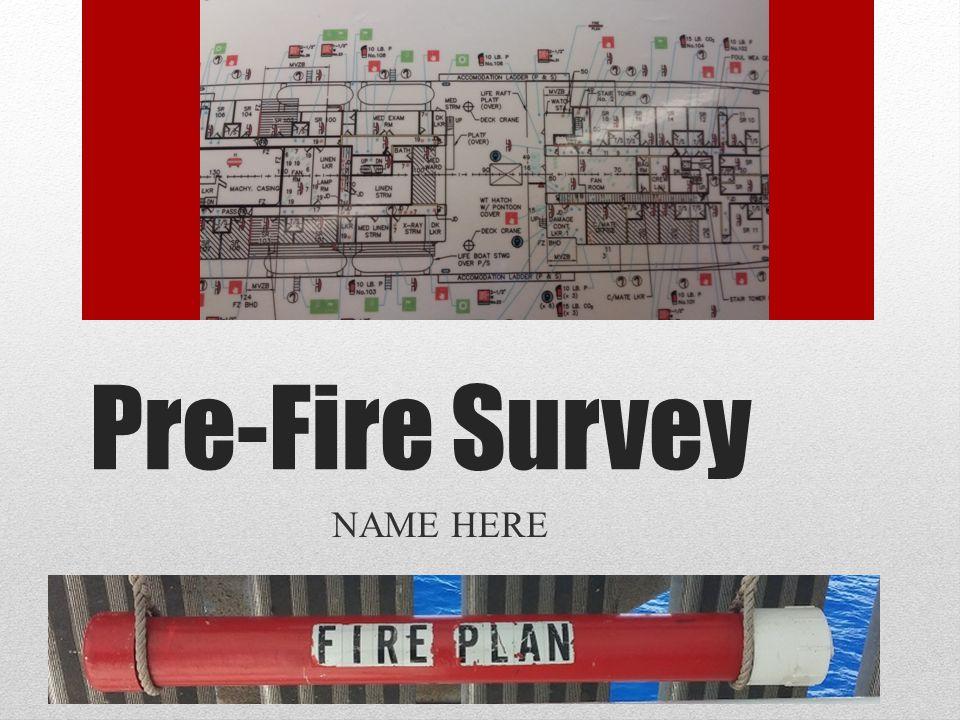 Mid Ships Crane Pre-Fire Survey