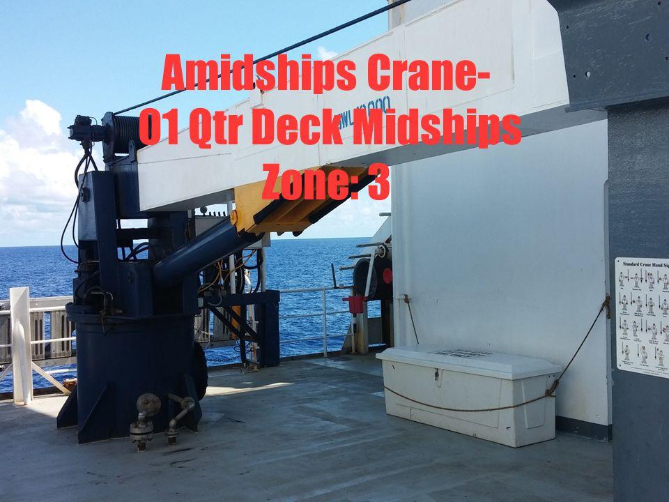 Shutoffs: Fuel Crane Shut Offs EOS Main Deck Electrical Panel Valve shut off at crane