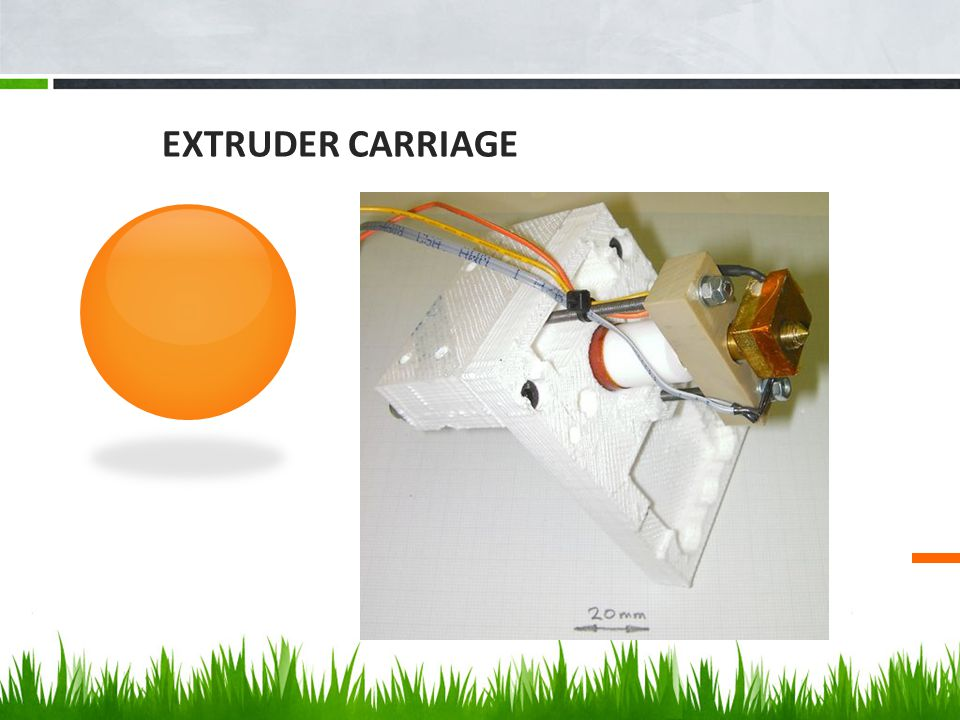 The Problem Extruder Carriage is prone to melt when extruding ABS plastic Currently made out of PLA plastic (Melting Point: 190° C)