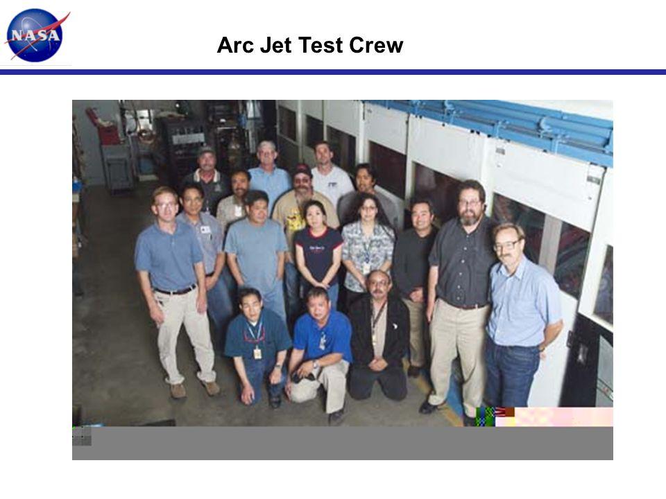 Arc Jet Test Crew
