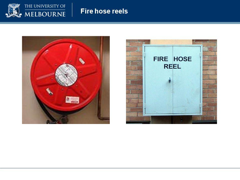 Fire hose reels
