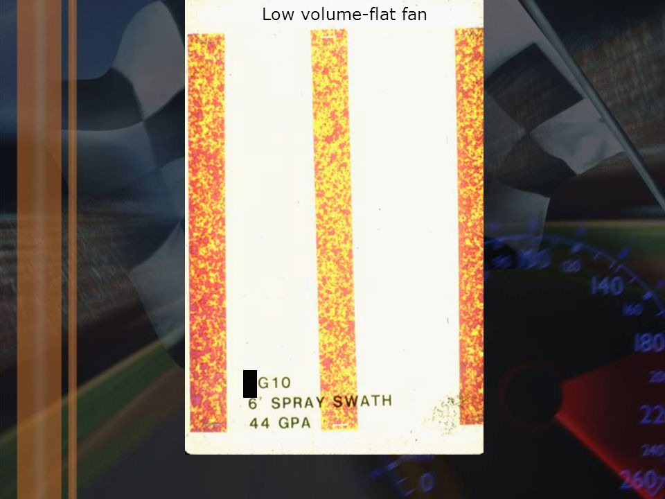 Low volume-flat fan