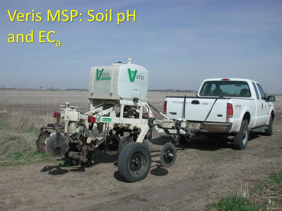 Veris MSP: Soil pH and EC a