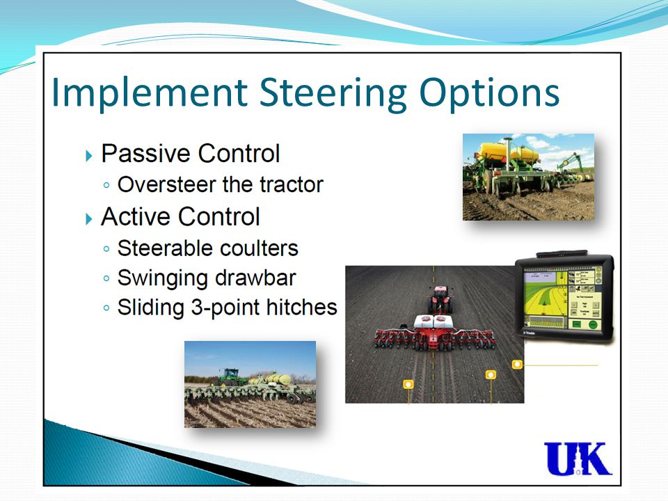 Implement Steering Options