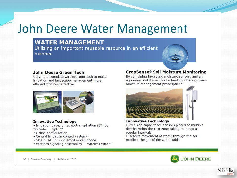 John Deere Water Management