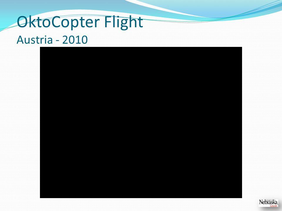 OktoCopter Flight Austria - 2010