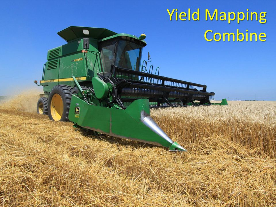 Yield Mapping Combine