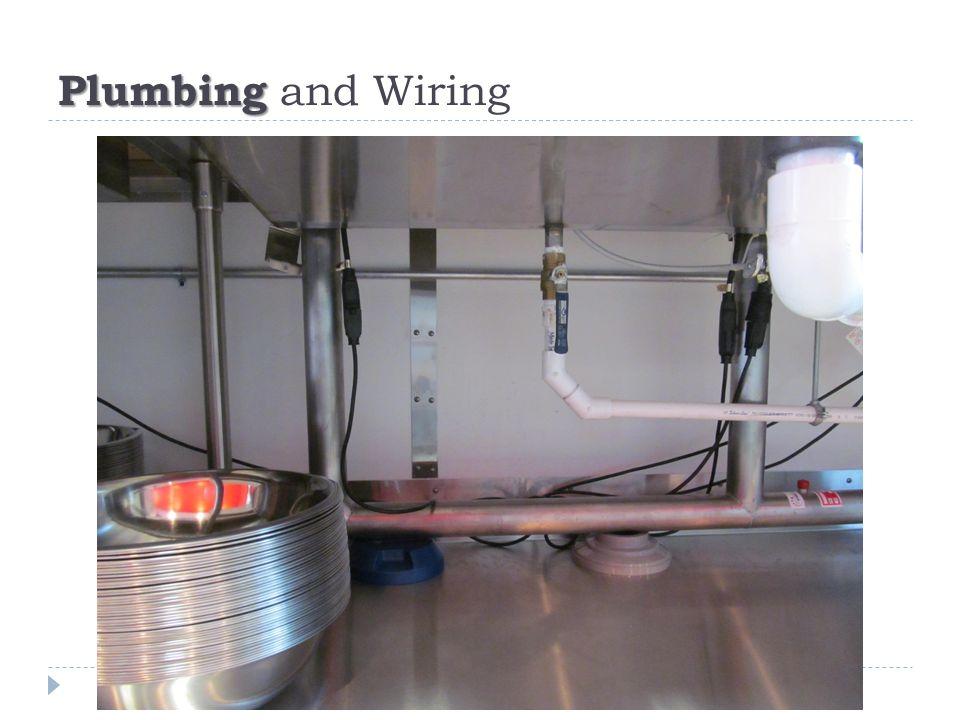 Plumbing Plumbing and Wiring