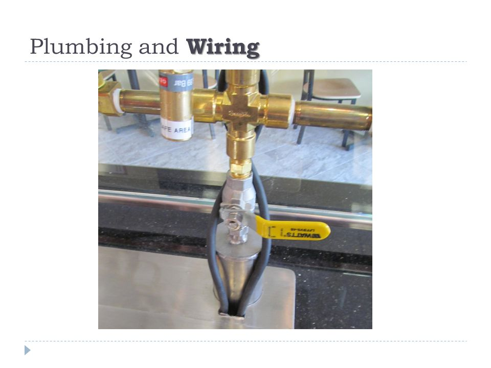 Wiring Plumbing and Wiring