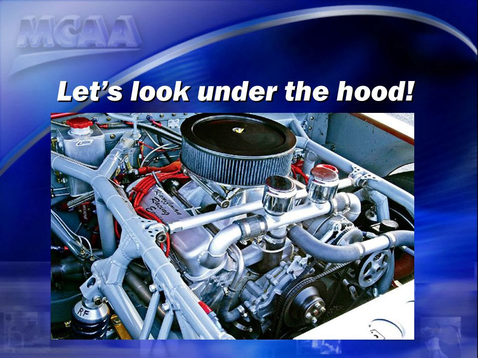Let's look under the hood!