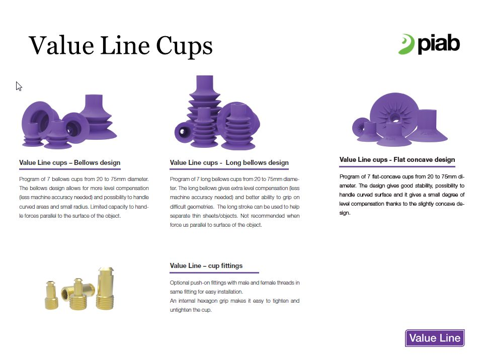 Value Line Cups