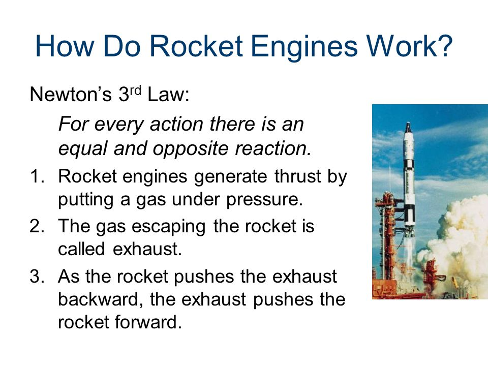How Do Rocket Engines Work.
