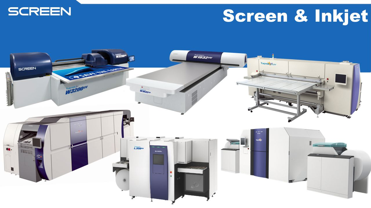 Screen & Inkjet