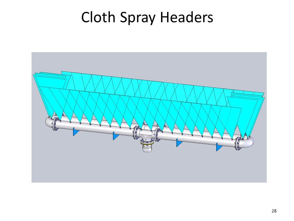 Cloth Spray Headers 28