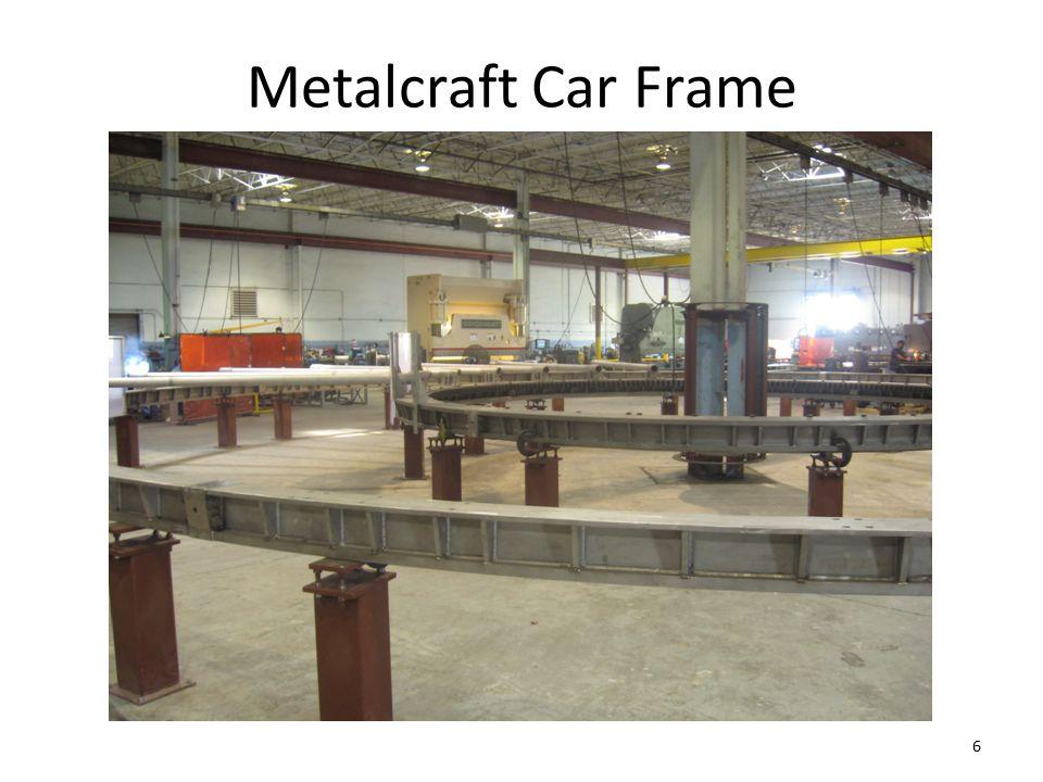 Metalcraft Car Frame 6