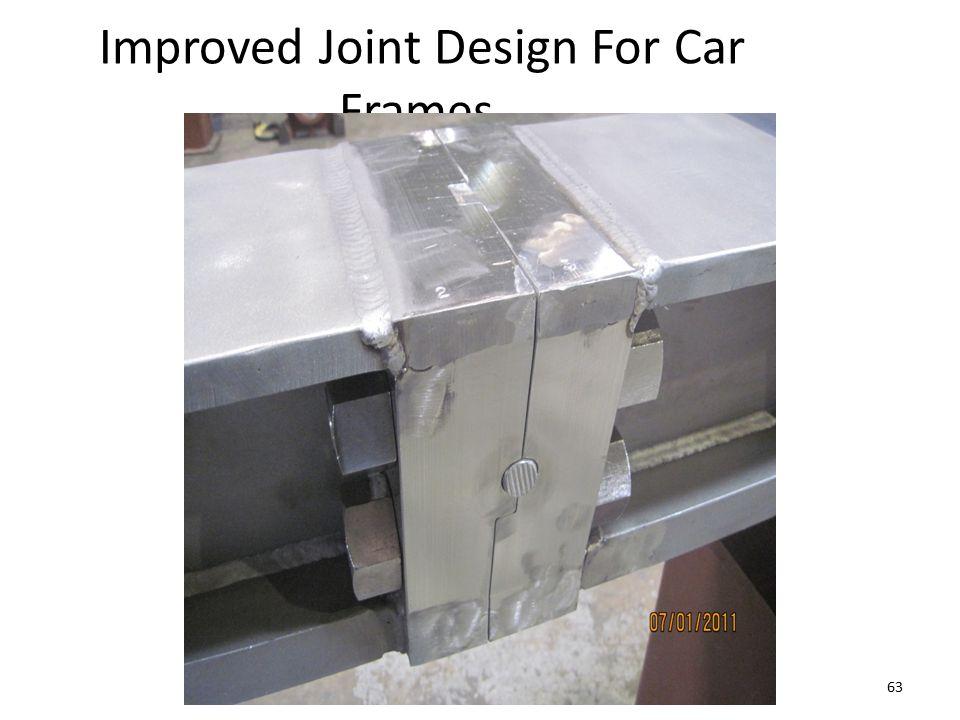 Improved Joint Design For Car Frames 63