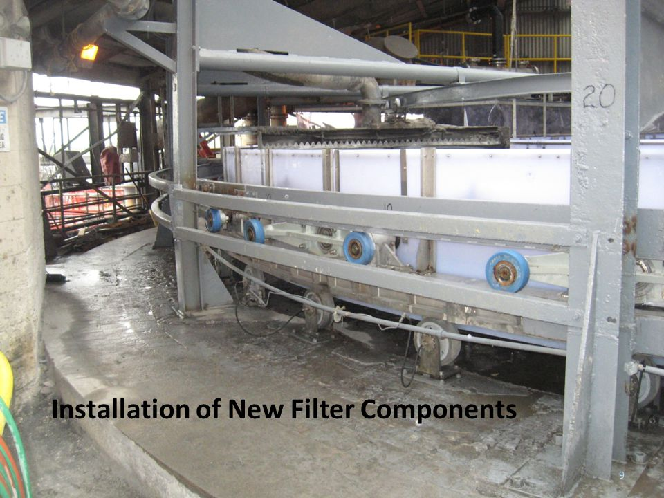 Metalcraft Services Installation of New Filter Components 9