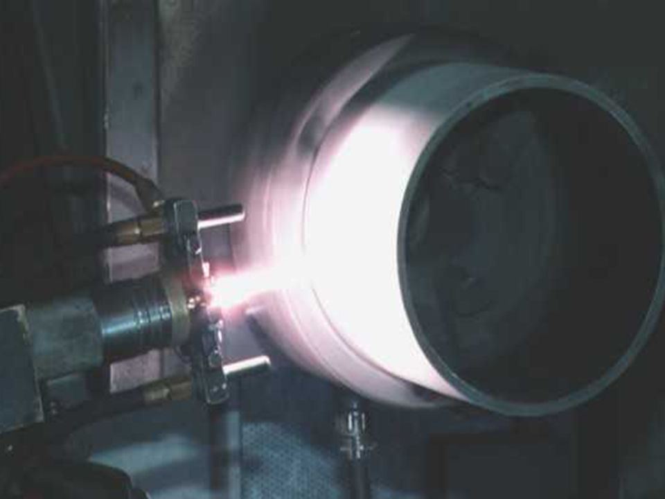 Plasma Spray Process The Plasma Spray Process is basically the spraying of molten or heat softened material onto a surface to provide a coating.
