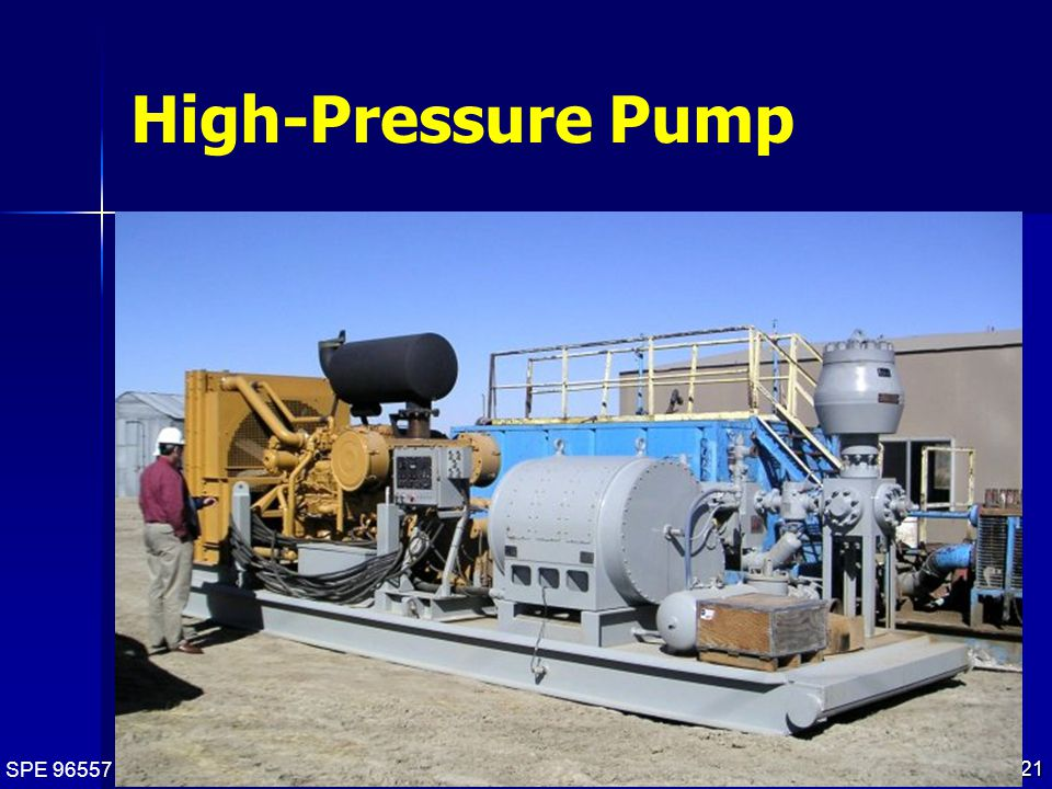SPE 96557 21 High-Pressure Pump