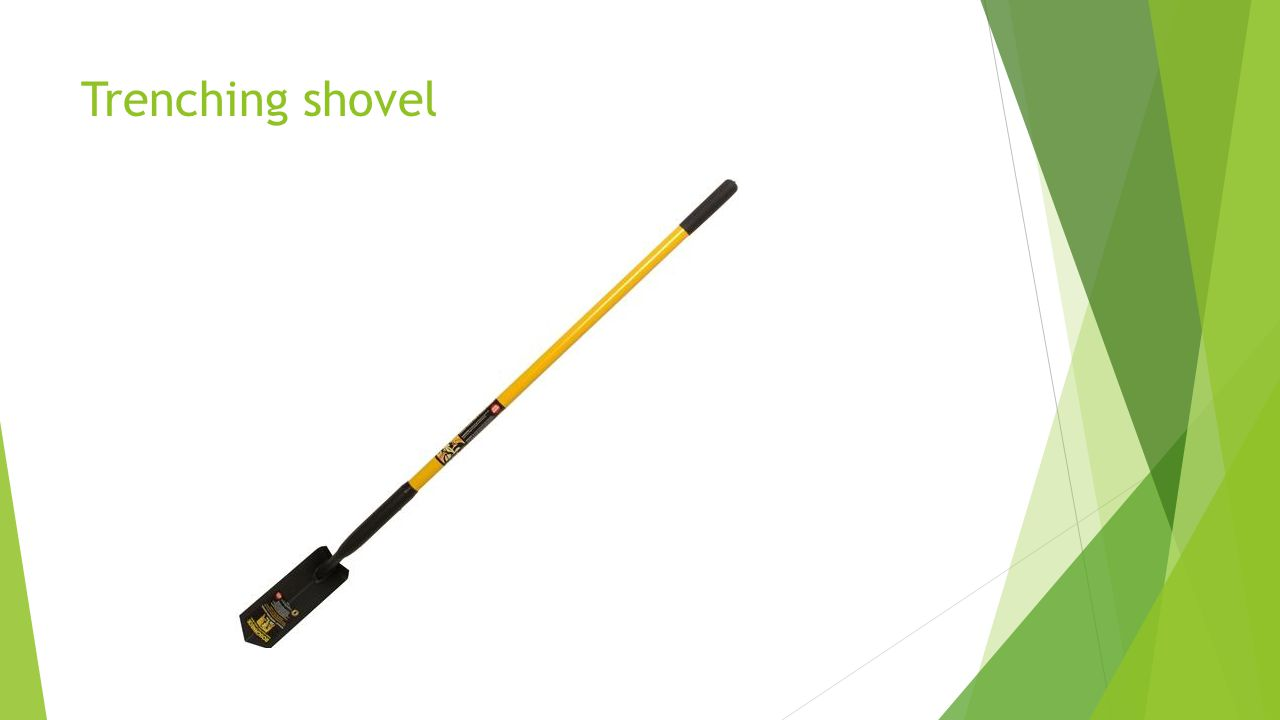 Trenching shovel
