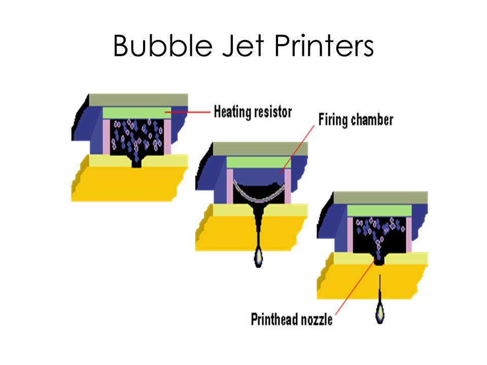 Bubble Jet Printers