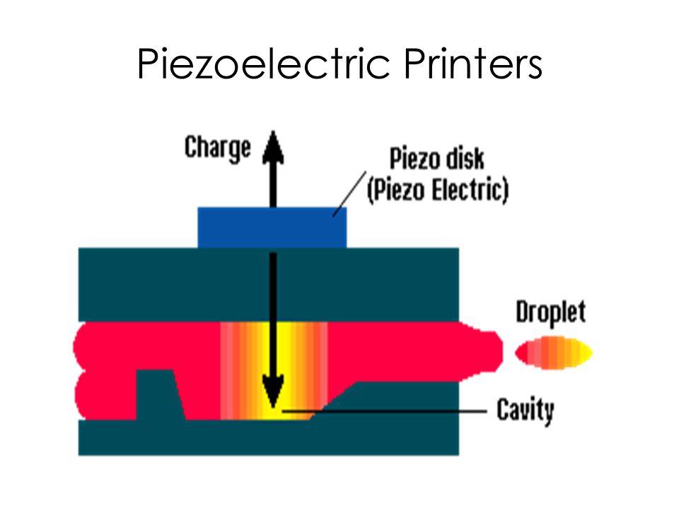 Piezoelectric Printers