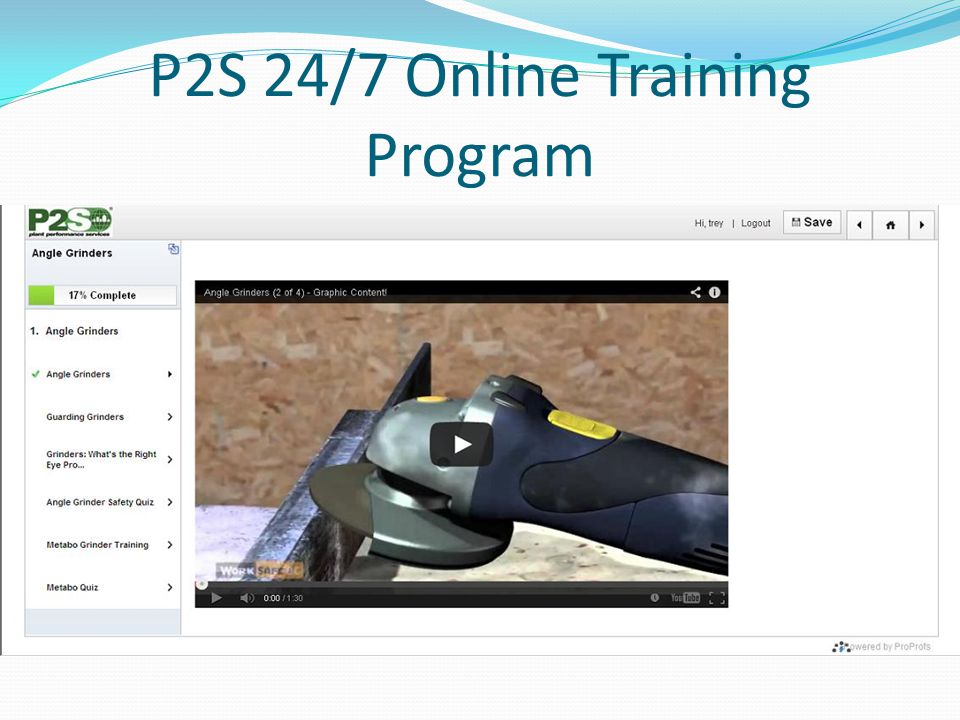 P2S 24/7 Online Training Program