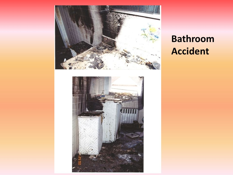 Bathroom Accident