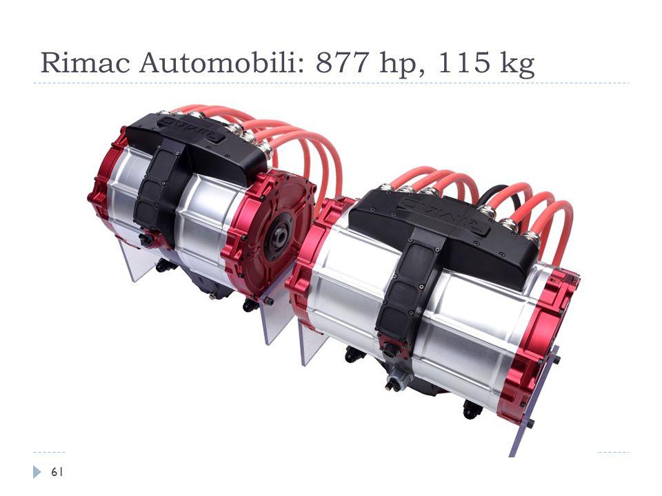Rimac Automobili: 877 hp, 115 kg 61