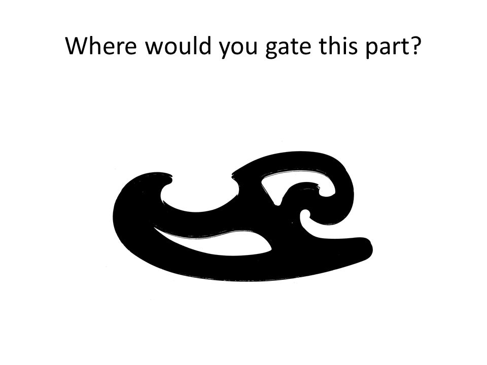 Where would you gate this part?