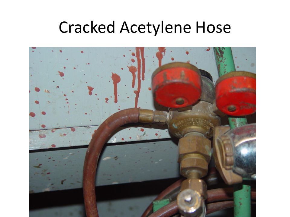 Cracked Acetylene Hose