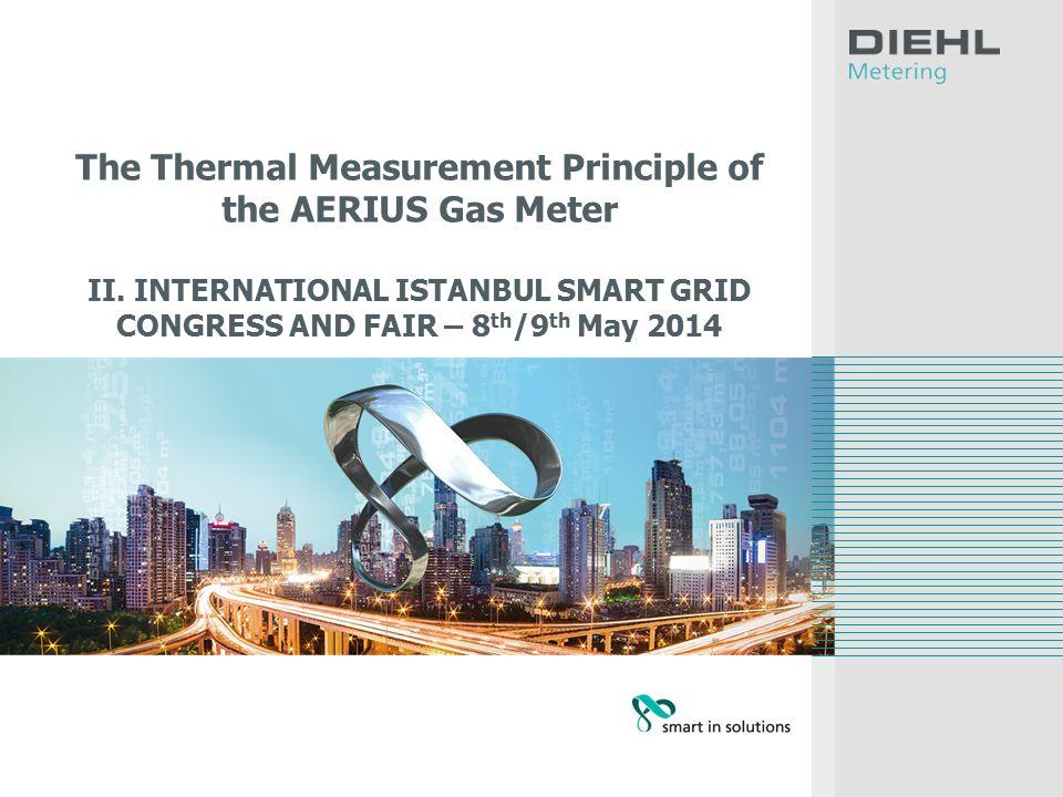 The Thermal Measurement Principle of the AERIUS Gas Meter II.