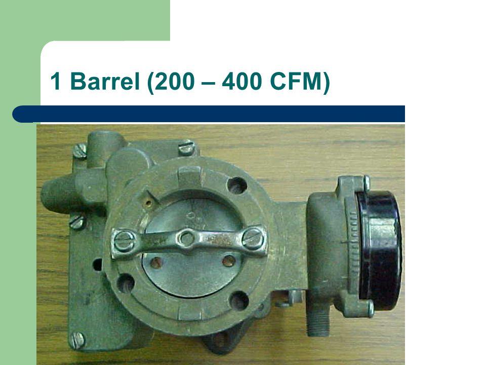 1 Barrel (200 – 400 CFM)