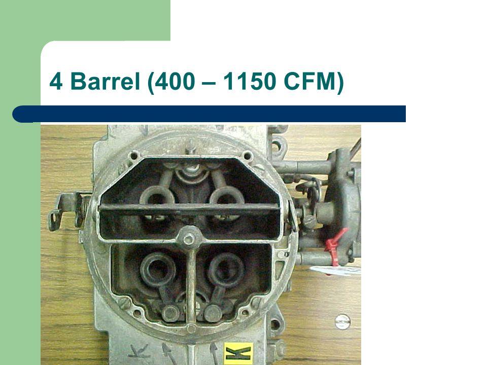 4 Barrel (400 – 1150 CFM)