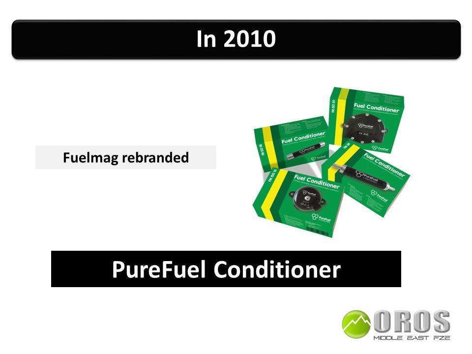 In 2010 PureFuel Conditioner Fuelmag rebranded