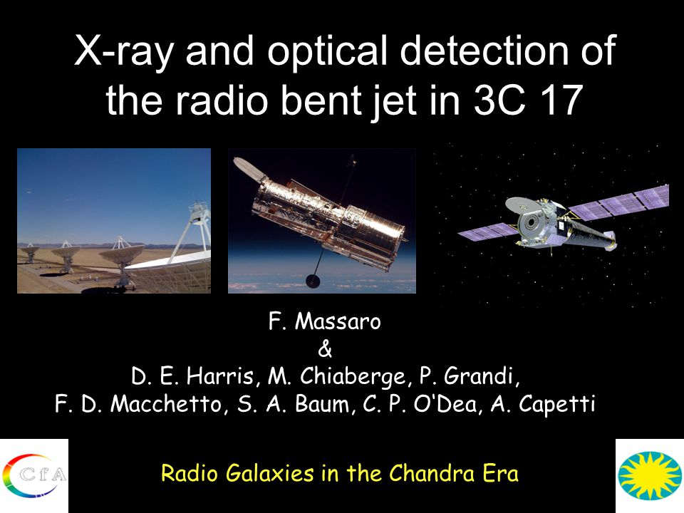 X-ray and optical detection of the radio bent jet in 3C 17 Radio Galaxies in the Chandra Era F.