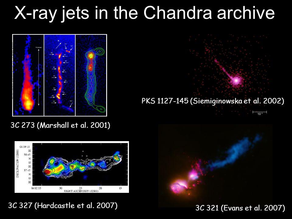 X-ray jets in the Chandra archive Centaurus A (Kraft et al.