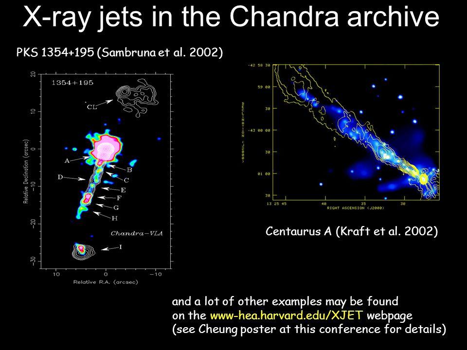 Radio bent jets detected in X-rays PKS 0637-752 (Schwartz et al.