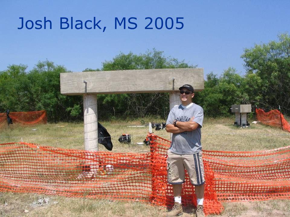 Josh Black, MS 2005