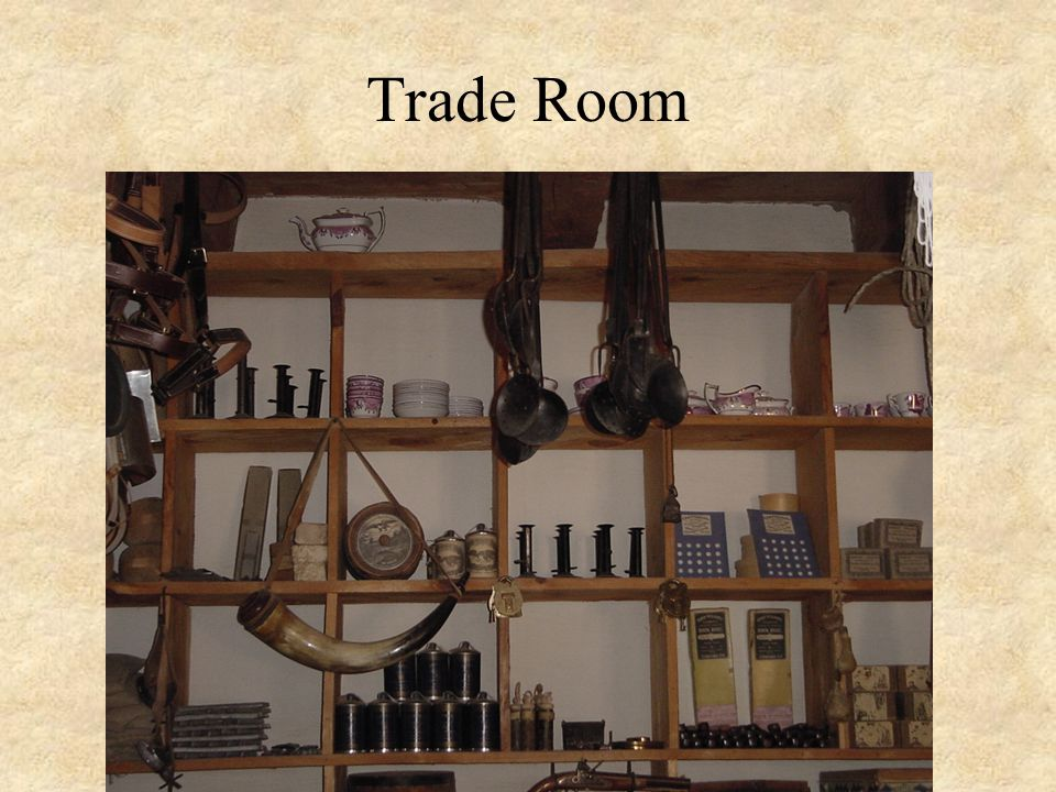 Supplies in the General Store